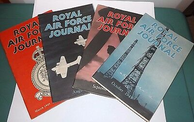 4 x Royal air force journals ww2 1945, paperback
