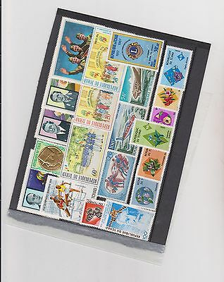 TCHAD- TIMBRES -N**- lot 2