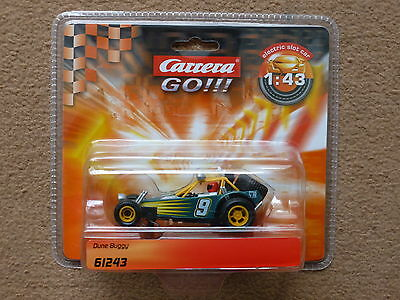 Scalextric Carrera Go 1/43 Green Dune Buggy  - 61243 - New