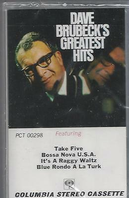 DAVE BRUBECK'S GREATEST HITS Take Five Camptown Races NEW CASSETTE