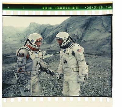 Interstellar 70mm IMAX Film Cell - Coop and Mann on Mann's Planet (1157)