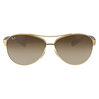 Ray-Ban Pilot Brown Gradient Lens Sunglasses RB3386-001-13-63