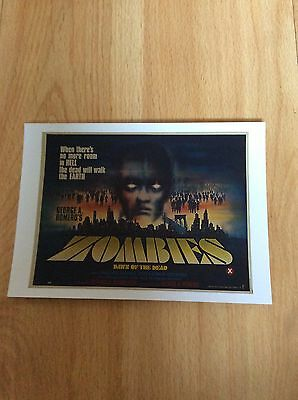 """""""zombie"""" Dawn Of The Dead - Postcards X  12  Different Artwork"""