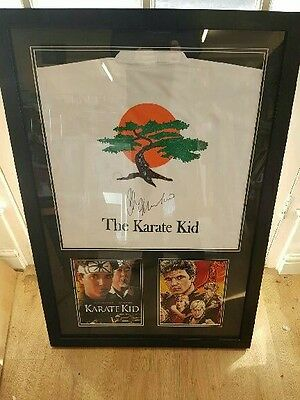 Signed Karate Kid Gi Rare Signed Ralph Macchio *****rare****