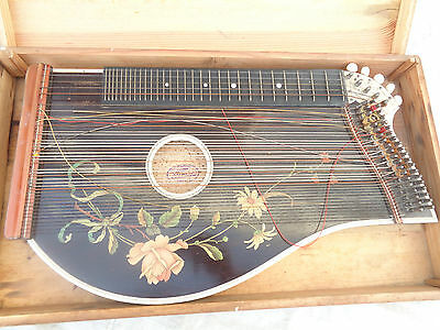 Alte Zither Weber´s