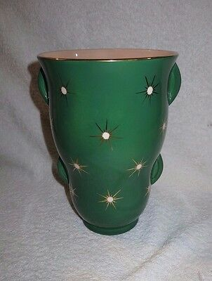 Beautiful Vintage 1950's 1960's  Large Falcon Ware Starglint Vase