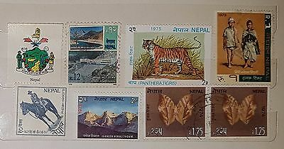 Nepal Mixed Unchecked Stamps (No1231)