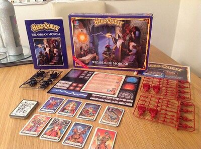 Wizards Of Morcar Heroquest Expansion Unused