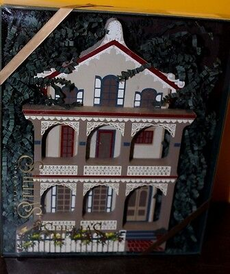 Sheila's Collectible Victorian STOCKTON PLACE Row Houses Cape May NJ w/ Box - EC