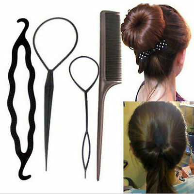 New Fashion Hair Twist Styling Clip Stick Bun Maker Braid Tool Hair Accessories