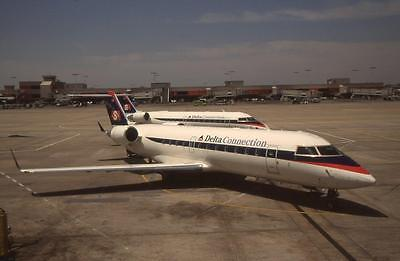 Original 35mm Aircraft Slide ASA Delta Canadair CRJ-200ER N838AS ATL 4/99