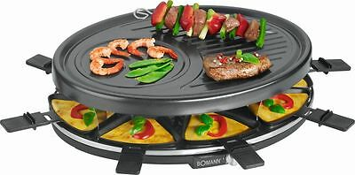 Bomann 2247 Raclette Grill Grill Platte Tisch Grill Elektrogrill E Grill