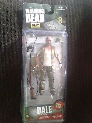 McFarlane Toys The Walking Dead TV Series 8 Dale Horvath Action Figure NEW
