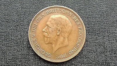 One Penny Coin 1936 George -V