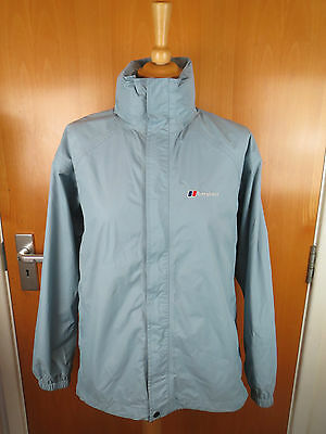 Berghaus Ladies Aquafoil Blue Hiking Jacket Size 18 In Very Good Condition