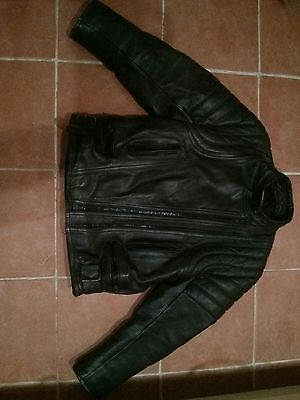 JT's Leather Motorcycle Jacket - XL