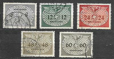 POLAND - German Occupation (1939-45).1940. OFFICIAL. Perf, very fine used