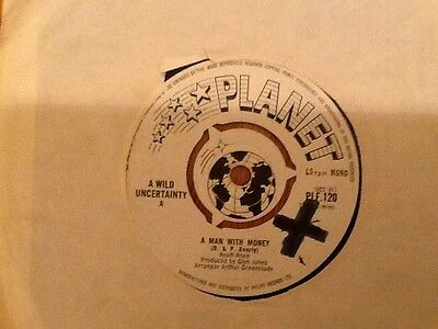 Wild Uncertainty - A man With money Planet PLF-120 RARE mod freakbeat psych