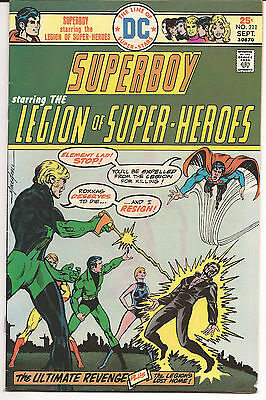 Superboy And The Legion Of Super-Heroes #211  1975  Very Fine Art By Mike Grell
