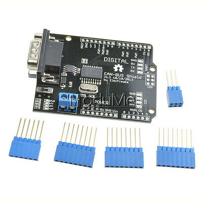 SPI MCP2515 EF02037 CAN BUS Shield Controller communication speed high Arduino M