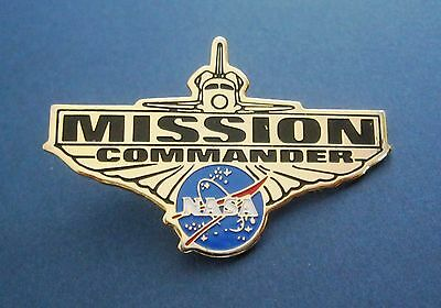 NASA Mission Commander Pin