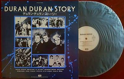Duran Duran Story mint (Japanese promo-only 15-trk LP very rare