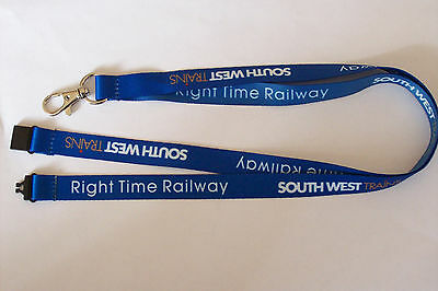 Network Rail South West Trains Right Time Railway Lanyard