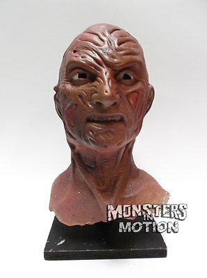 Nightmare On Elm Street Part 5 Unfinished Freddy Stunt Mask Painted 29NCA01