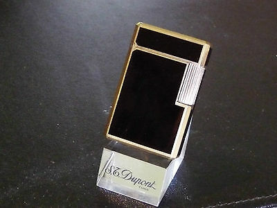 "VERY RARE S T Dupont"" Brevete tous pays"" Laque de Chine Petrol Lighter-Beautiful"
