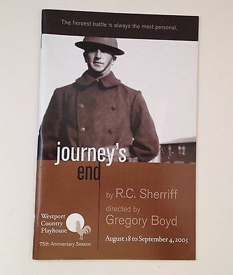Westport Country Playhouse 2005 Journeys End CT Theater R C Sherriff Theatre