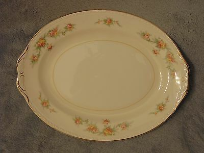 VTG Homer Laughlin Eggshell Georgian Cashmere 11.5'' x 9''  Oval Serving Platter