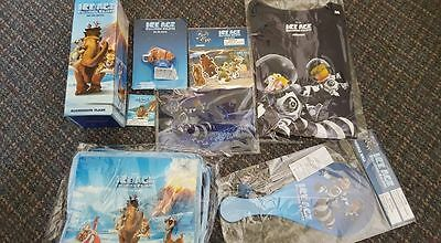 Ice Age Collision Course film Merchandise 8 items  BRAND NEW