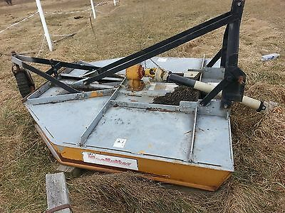 King Kutter 3 point brush mower