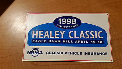 1998 Healey Classic, New South Wales, Eagle Hawk Hill Magnet