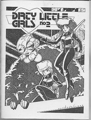 Dirty Little Girls No. 2 #2 (Nm) Manga Fanzine From 1987