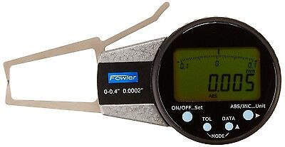 "Fowler External Electronic Outside Point Caliper Gage 0-0.4"" / 0.0002"" 0-10mm"