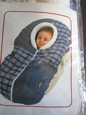 NOJO Baby Cover-Up, Warmth & Comfort for Strollers & Car Seats, Infants to 6 mo