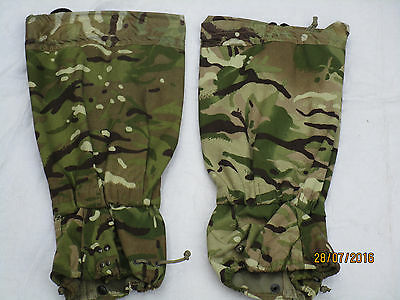 English Moisture protection Puttees,Gaiters GS,MK2,MTP 2015,Multicam,Size