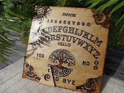 Tree of Life Ouija Board Handmade LARGE - Witches Hotline