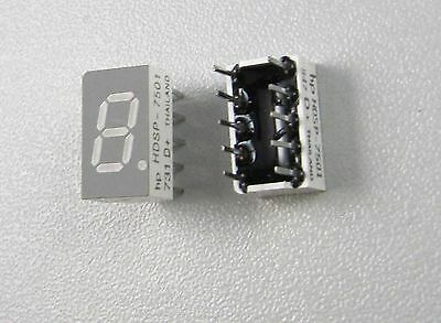 2pcs HDSP-7501 Agilent 7 Segment LED Digital Display 0.3 inch Common Anode Red