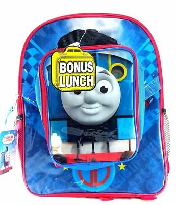 Thomas the Train Boys' Icon 15 Inch Backpack with Lunch Bag