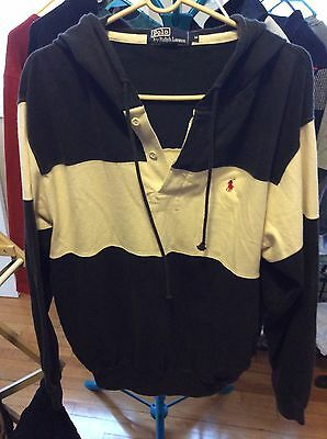 Vintage Polo by RL Rugby Sweatshirt With Hood