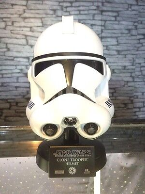 Star Wars Clone Trooper Helmet .45 Scaled Master Replicas 2007 ROTS Rogue Lucas