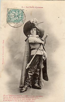 Cpa France 1904- Le Petit Cyrano  - Editions Bergeret -