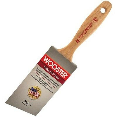 Wooster Brush4177-2 1/2 Ultra/Pro Firm Lindbeck Sable Angle Paintbrush, 2.5-Inch