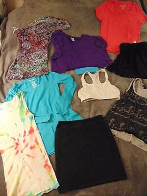 Large Lot 11 Women's Juniors Clothing VS Pink Twenty One Old Navy ArdenB Mossimo