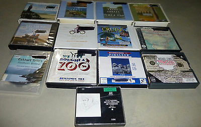 Lot of 13 Nonfiction Audiobooks on CD