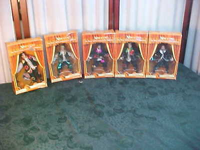 NIB-5/2000 All Entertainment N Sync Marionette Action Figures