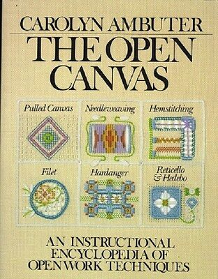Open Canvas - Encyclopedia of Openwork Techniques Book