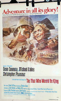 Man Who Would Be King (The) 1975 - US One Sheet Fine Sean Connery Caine poster